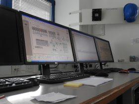 Visoko tehnološki nadzor in kontrola betonarne